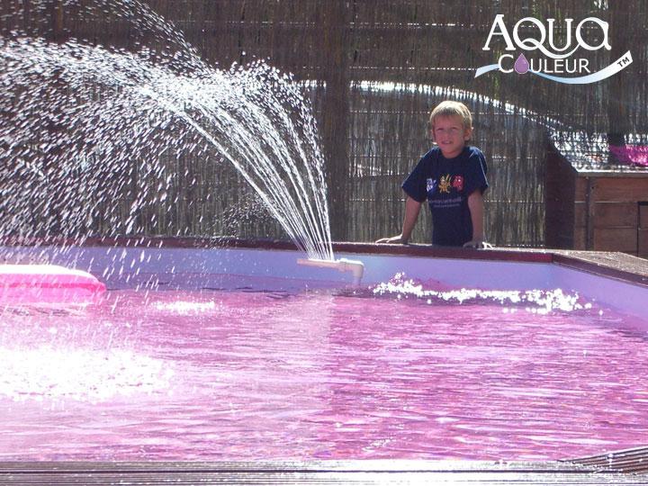 Aquacouleur tm coloration de piscine for Aquacouleur piscine